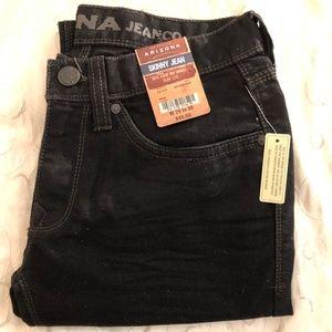 Arizona Skinny Jean Black Size 29/30 Black